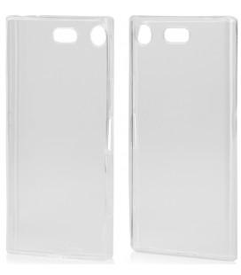 "Skaidrus silikoninis dėklas Sony Xperia XZ1 Compact telefonui ""Clear"""