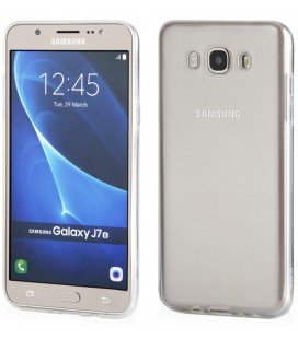 """Skaidrus silikoninis dėklas Samsung Galaxy J7 2016 telefonui """"Clear"""""""