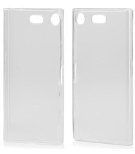 "Skaidrus silikoninis dėklas Sony Xperia XZ1 telefonui ""Clear"""