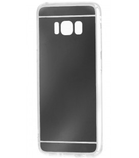 """Juodas silikoninis dėklas Samsung Galaxy S8 Plus telefonui """"Mirror"""""""
