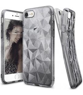 "Pilkas dėklas Apple iPhone 7/8 telefonui ""Ringke Prism Air Glitter"""