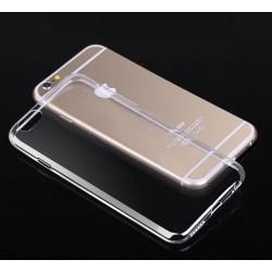 Skaidrus plonas 0,3mm silikoninis dėklas iPhone 6 Plus telefonui