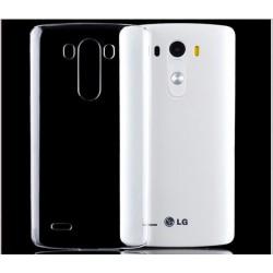 Skaidrus plonas 0,3mm silikoninis dėklas LG G4 telefonui