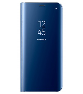 "Originalus mėlynas dėklas ""Clear View Standing Cover"" Samsung Galaxy S8 Plus telefonui ef-zg95cle"