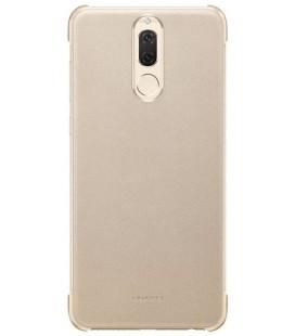 """Originalus auksinės spalvos dėklas Huawei Mate 10 Lite telefonui """"PU case"""""""