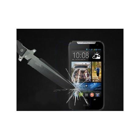 """Apsauginė ekrano plėvelė - grūdintas stiklas """"Tempered Glass"""" HTC Desire 310 telefonui."""