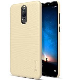"""Auksinės spalvos plastikinis dėklas Huawei Mate 10 Lite telefonui """"Nillkin Frosted Shield"""""""