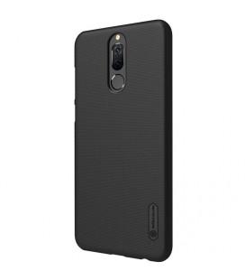 """Juodas atverčiamas dėklas Huawei P10 Lite telefonui """"Smart Book Magnet"""""""