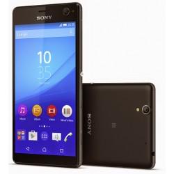 """Apsauginė ekrano plėvelė - grūdintas stiklas """"Tempered Glass"""" Sony Xperia C4 telefonui."""
