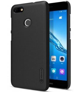 """Juodas plastikinis dėklas Huawei P9 Lite Mini telefonui """"Nillkin Frosted Shield"""""""