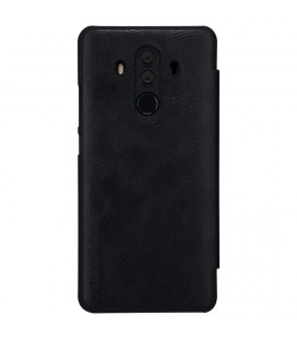 """Juodas atverčiamas dėklas Huawei P10 telefonui """"Elegance"""""""
