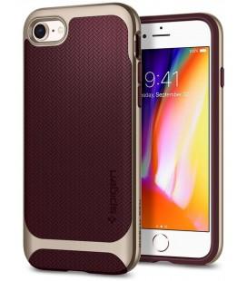"""Raudonas dėklas Apple iPhone 7/8 telefonui """"Spigen Neo Hybrid"""""""