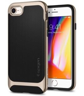 """Auksinės spalvos dėklas Apple iPhone 7/8 telefonui """"Spigen Neo Hybrid"""""""
