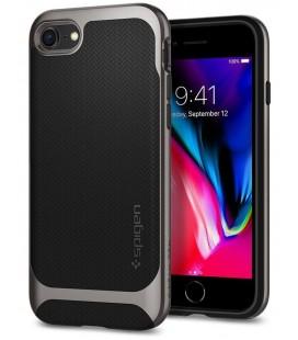 "Pilkas dėklas Apple iPhone 7/8 telefonui ""Spigen Neo Hybrid"""