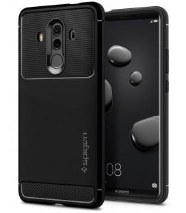 """Juodas dėklas Huawei Mate 10 Pro telefonui """"Spigen Rugged Armor"""""""