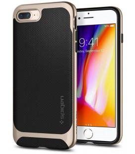 """Auksinės spalvos dėklas Apple iPhone 7 Plus / 8 Plus telefonui """"Spigen Neo Hybrid"""""""