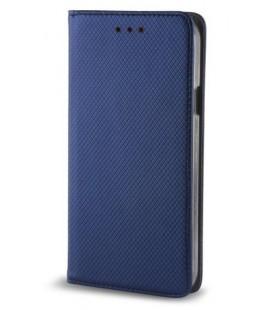 """Mėlynas atverčiamas dėklas Samsung Galaxy A8 Plus 2018 telefonui """"Smart Book Magnet"""""""