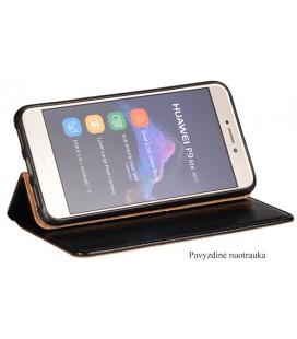 """Juodas atverčiamas dėklas Xiaomi Mi6 telefonui """"Dux Ducis Skin"""""""