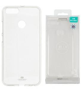 "Skaidrus silikoninis dėklas Xiaomi Mi5X (Mi 5X, Mi A1) telefonui ""Mercury Goospery Pearl Jelly Case"""