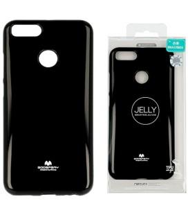 "Juodas silikoninis dėklas Xiaomi Mi5X (Mi 5X, Mi A1) telefonui ""Mercury Goospery Pearl Jelly Case"""