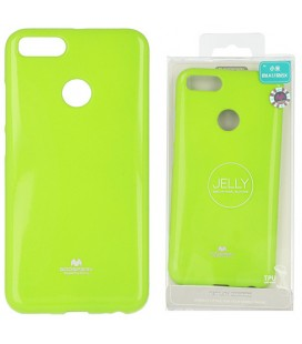 "Žalias silikoninis dėklas Xiaomi Mi5X (Mi 5X, Mi A1) telefonui ""Mercury Goospery Pearl Jelly Case"""