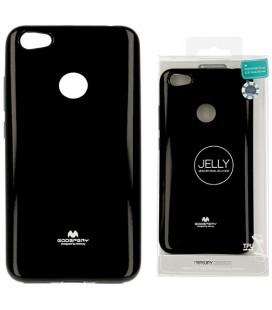 """Juodas silikoninis dėklas Xiaomi Redmi Note 5A telefonui """"Mercury Goospery Pearl Jelly Case"""""""
