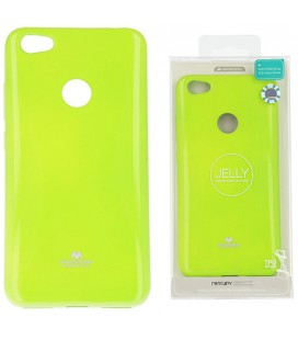 """Žalias silikoninis dėklas Xiaomi Redmi Note 5A telefonui """"Mercury Goospery Pearl Jelly Case"""""""