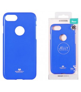 "Mėlynas silikoninis dėklas Apple iPhone 7 Plus / 8 Plus telefonui ""Mercury Goospery Pearl Jelly Case"""