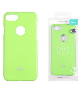 "Žalias silikoninis dėklas Apple iPhone 7 Plus / 8 Plus telefonui ""Mercury Goospery Pearl Jelly Case"""
