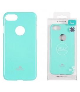 """Mėtos spalvos silikoninis dėklas Apple iPhone 7 Plus / 8 Plus telefonui """"Mercury Goospery Pearl Jelly Case"""""""