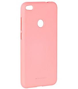 """Rožinis silikoninis dėklas Huawei P8/P9 Lite 2017 telefonui """"Mercury Soft Feeling"""""""