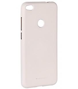 """Šviesiai pilka silikoninis dėklas Huawei P8/P9 Lite 2017 telefonui """"Mercury Soft Feeling"""""""
