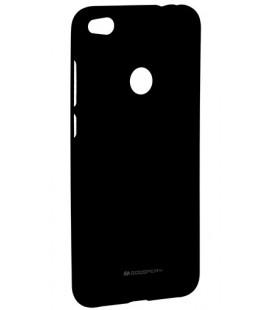 """Juodas silikoninis dėklas Huawei P8/P9 Lite 2017 telefonui """"Mercury Soft Feeling"""""""