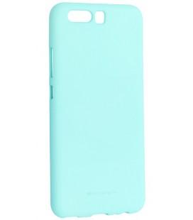 """Mėtos spalvos silikoninis dėklas Huawei P10 telefonui """"Mercury Soft Feeling"""""""