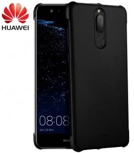 """Originalus juodas dėklas Huawei Mate 10 Lite telefonui """"PU case"""""""