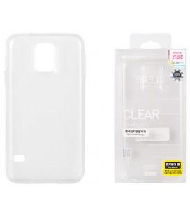 """Skaidru silikoninis dėklas Samsung Galaxy S5/S5 Neo telefonui """"Mercury Goospery Pearl Jelly Case"""""""