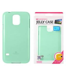 """Mėtos spalvos silikoninis dėklas Samsung Galaxy S5/S5 Neo telefonui """"Mercury Goospery Pearl Jelly Case"""""""