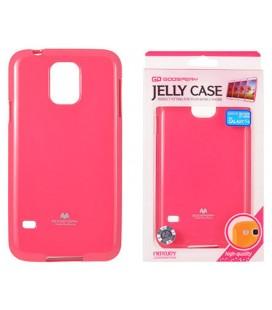 """Rožinis silikoninis dėklas Samsung Galaxy S5/S5 Neo telefonui """"Mercury Goospery Pearl Jelly Case"""""""