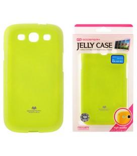 """Žalias silikoninis dėklas Samsung Galaxy S3/S3 Neo telefonui """"Mercury Goospery Pearl Jelly Case"""""""