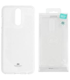"""Skaidrus silikoninis dėklas Huawei Mate 10 Lite telefonui """"Mercury Goospery Pearl Jelly Case"""""""