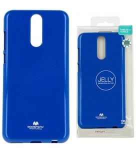 "Mėlynas silikoninis dėklas Huawei Mate 10 Lite telefonui ""Mercury Goospery Pearl Jelly Case"""