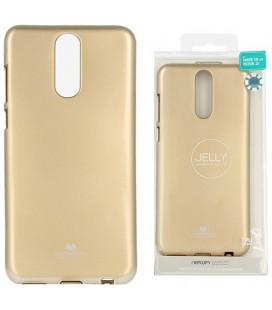 """Auksinės spalvos silikoninis dėklas Huawei Mate 10 Lite telefonui """"Mercury Goospery Pearl Jelly Case"""""""