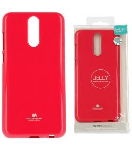 """Rožinis silikoninis dėklas Huawei Mate 10 Lite telefonui """"Mercury Goospery Pearl Jelly Case"""""""