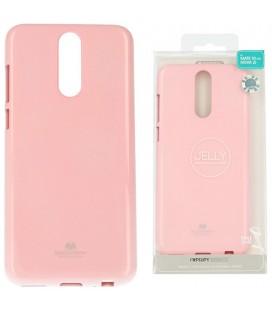 """Šviesiai rožinis silikoninis dėklas Huawei Mate 10 Lite telefonui """"Mercury Goospery Pearl Jelly Case"""""""