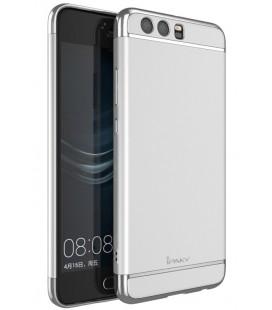"""Sidabrinės spalvos dėklas Huawei P10 telefonui """"iPaky 3in1"""""""