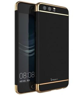 """Juodas dėklas Huawei P10 telefonui """"iPaky 3in1"""""""
