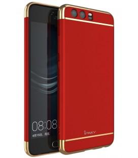 """Raudonas dėklas Huawei P10 telefonui """"iPaky 3in1"""""""