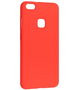 """Raudonas silikoninis dėklas Huawei P10 Lite telefonui """"Mercury Soft Feeling"""""""