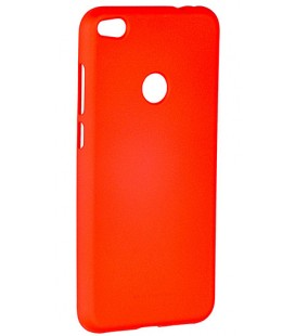 """Raudonas silikoninis dėklas Huawei P8/P9 Lite 2017 telefonui """"Mercury Soft Feeling"""""""