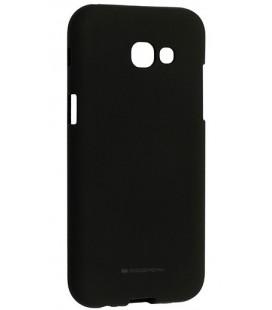 """Juodas silikoninis dėklas Samsung Galaxy A5 2017 telefonui """"Mercury Soft Feeling"""""""